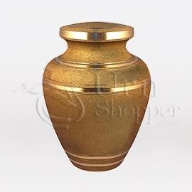 Solaris Keepsake Brass Metal Cremation Urn