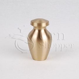 Spartan II Brass Metal Token Cremation Urn