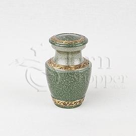Twilight Forest Brass Metal Token Cremation Urn