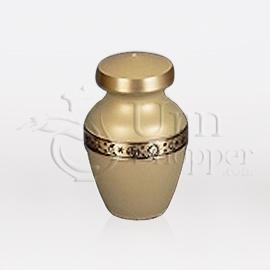 Venus II Brass Metal Token Cremation Urn