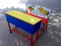 Kids Desk Bench