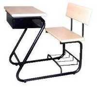 Institutional desk bench