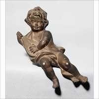 Brass Cherub Sculpture