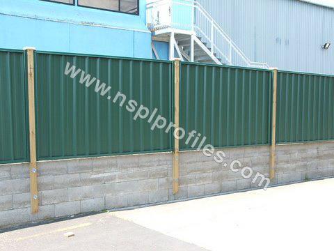 Steel Boundary Wall
