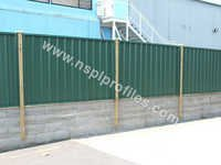 Steel Boundary Wall