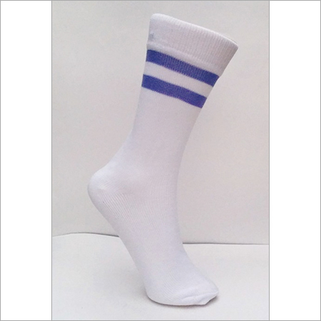 Cotton Spandex Stripe Socks