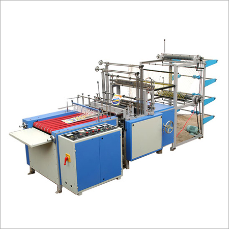 Automatic Double Decker Sealing & Cutting Machine