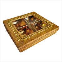Golden Dry Fruit Boxes