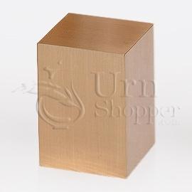Large Plain Bronze Metal Keepsake Cremation Urn