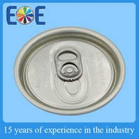 High quality EOE Aluminium easy open end 57mm