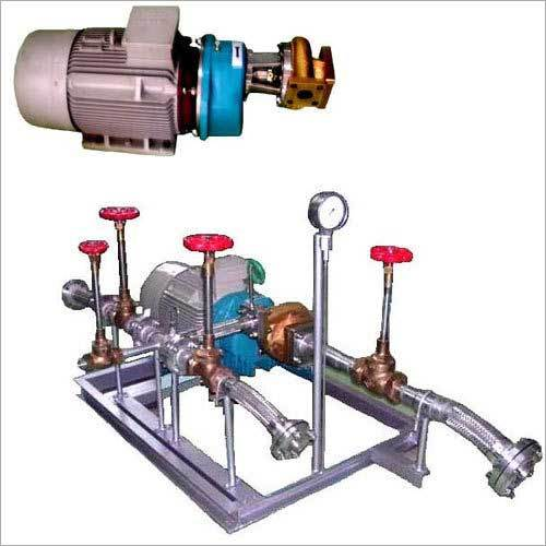 Geared Power Reciprocating Pump