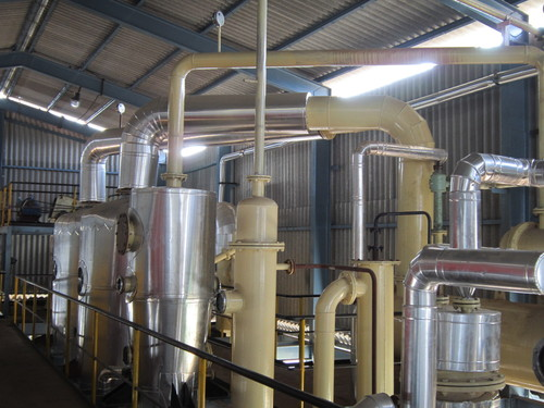 Solvent Extraction Plant Distillation Section