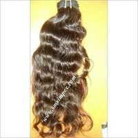 Machine Weft wave human hair