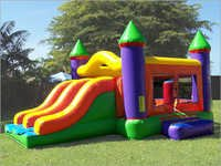 Double Slide Inflatable Bouncer