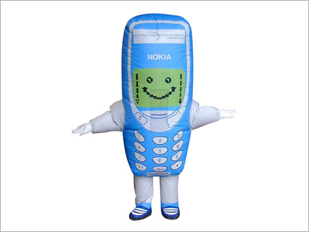 Inflatable Mobile Phone Costume