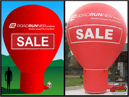 Cold Air Inflatable Promotional Balloon