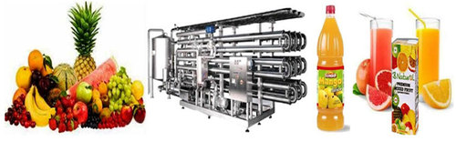 FRUIT JUICE PROCESSING MACHINERY
