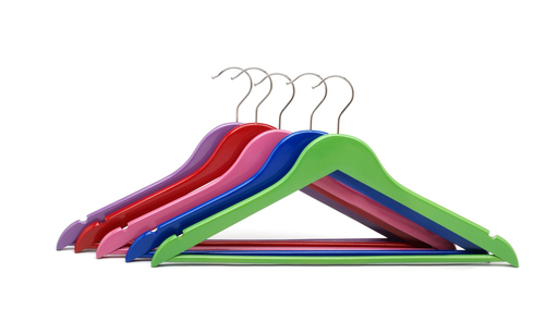 GARMENT COLOUR WOODEN HANGER