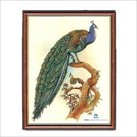 Peacock Gem Stone Paintings