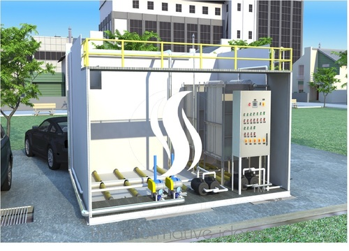Sewage Treatment System with MBR