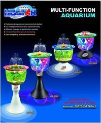 Beautiful Aquarium Fountain Tank Haibao