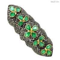 Diamond Knuckle Ring
