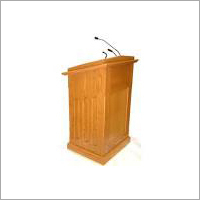 Wood Podium