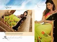 Nakkashi Designer Colorfull Sarees