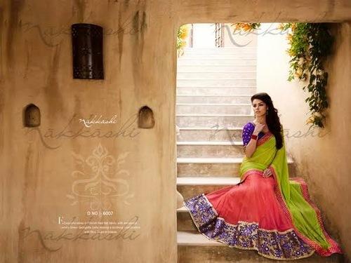 Nakkashi Designer Fashionable Sarees