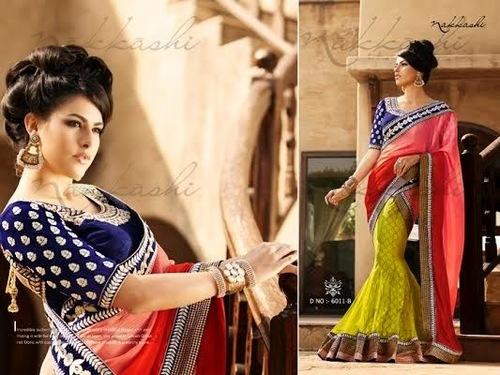 Nakkashi Designer Bollywood Sarees