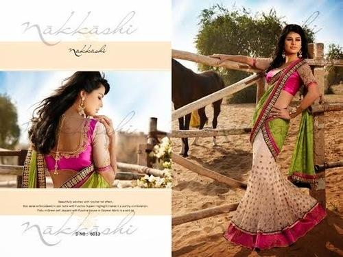 Nakkashi Designer Royal Sarees