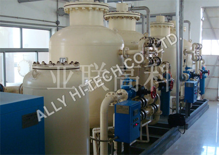 Nitrogen Gas Production Plant