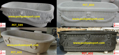 Carved Stone Bathtubs