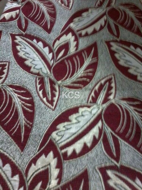 Cotton  Chenille Fabric Design 566