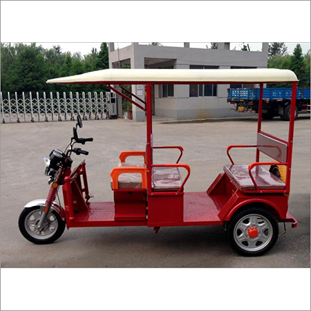 Battery Operated E Rickshaw