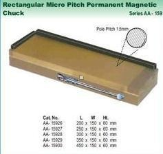 Rectangular Micro Pitch Permanent Magnetic Chuck