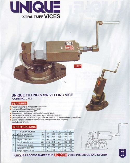 Unique Tilting Vice