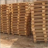 Chemically Treated Wood Pallets