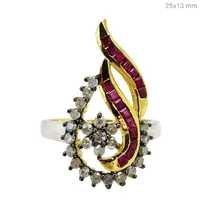 Diamond Gemstone Ring