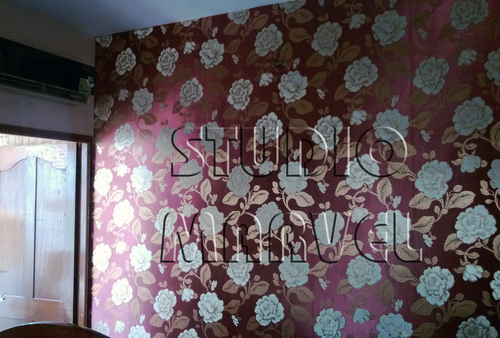 Vintage Floral Pattern Wallpapers