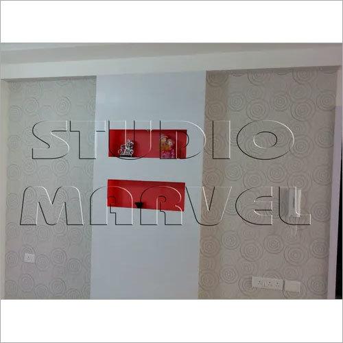 Geometric Circle Silk Wall Paper