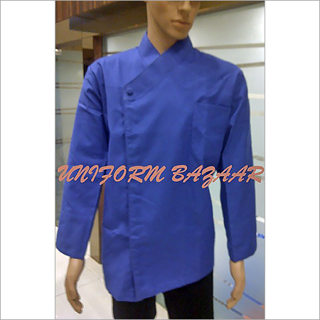 Blue Coloured Chef Coat