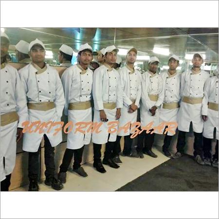 White Gold Chef Uniform