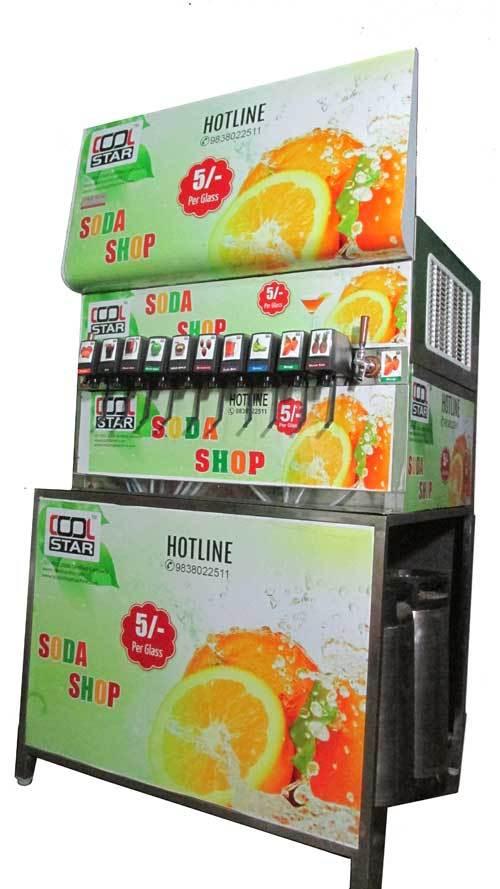 10+2 Soda Shop Machine