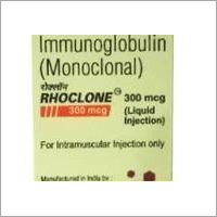 Rhoclone (Anti-D) 150 MCG & 300 MCG (Human Immumoglobulin) Injection