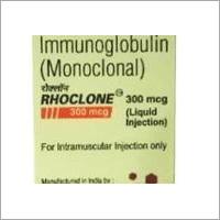 Rhoclone (Anti-D) 150 MCG & 300 MCG (Human Immumoglobulin) Injection