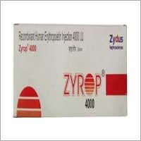 Zyrop (Erythropoietin) 4000 IU & 10000 IU Injection