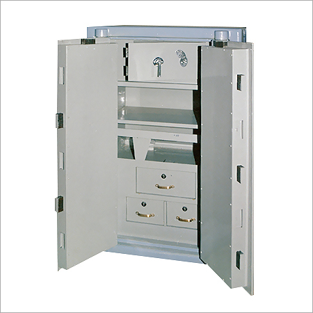 Double Door Safe Locker