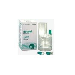 Duoset Rotacaps (Salbutamol + Ipratropium) Inhaler