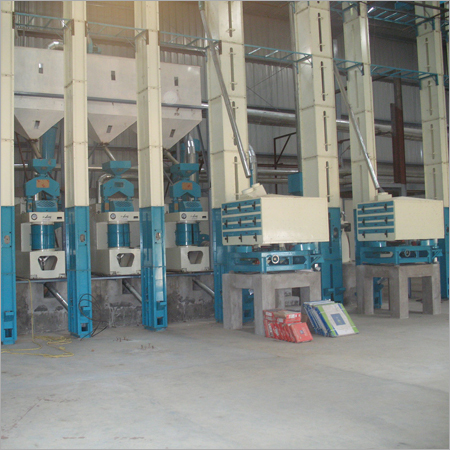 Vertical Rice Milling Machines